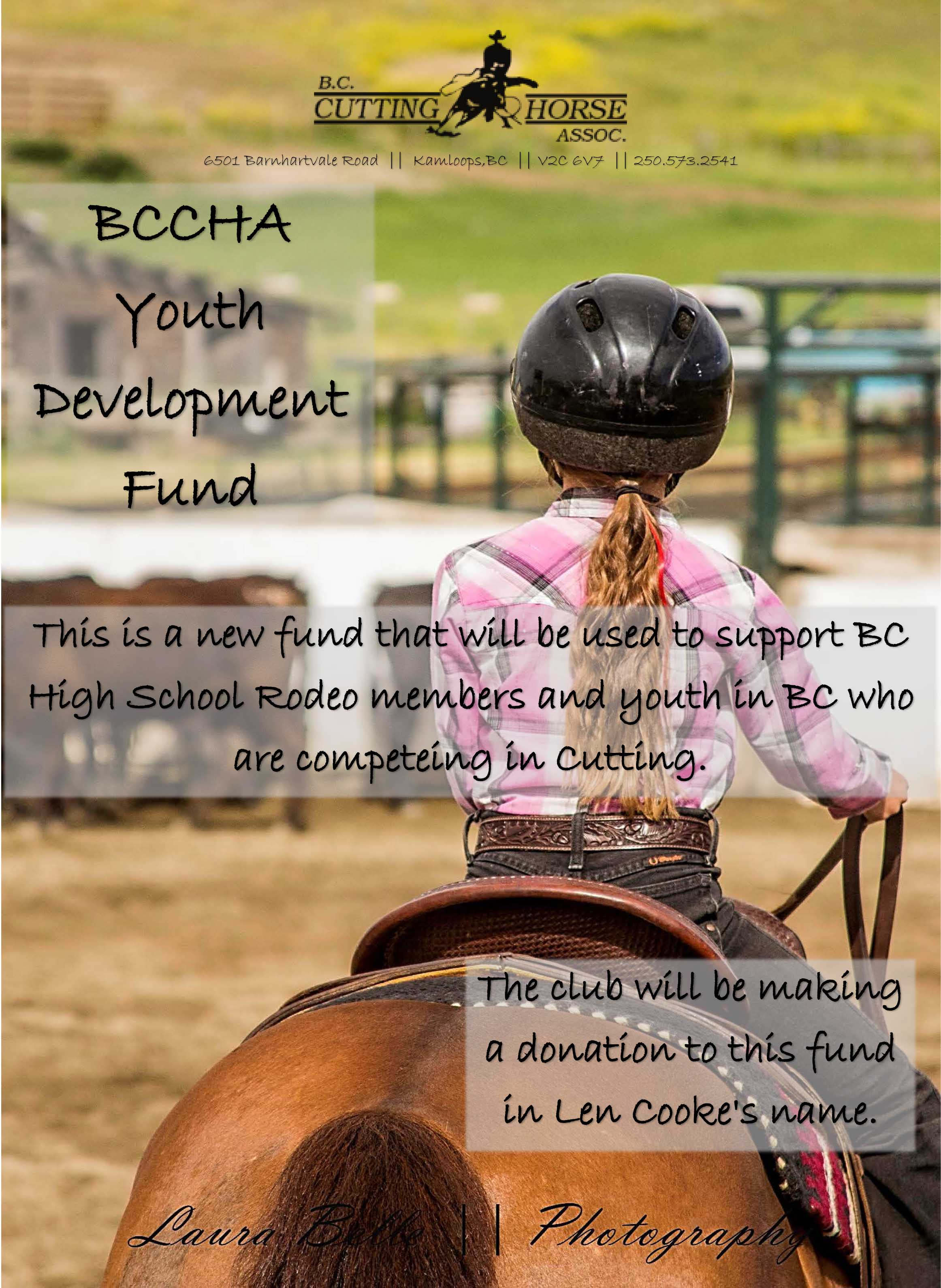 BCCHA Youth Development Fund
