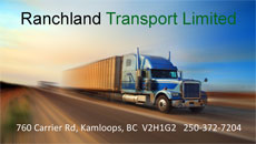 ranchland transport limited s